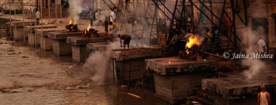 BURNING GHATS, PASHUPATINATH, NEPAL
