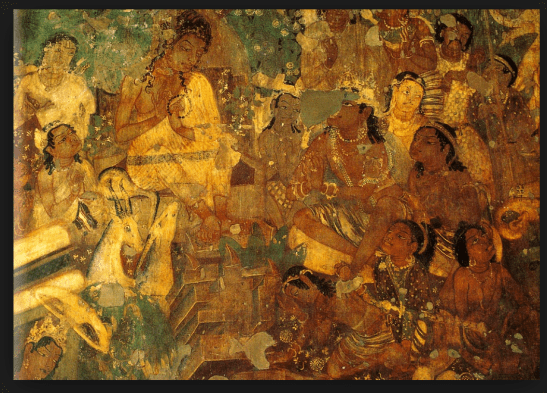 Ajanta Caves painting