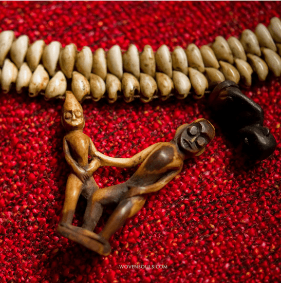 ANtique Dayak Fertility Charm