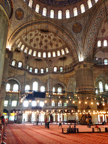 Art in AChitecture - The Magnificent Blue Mosque