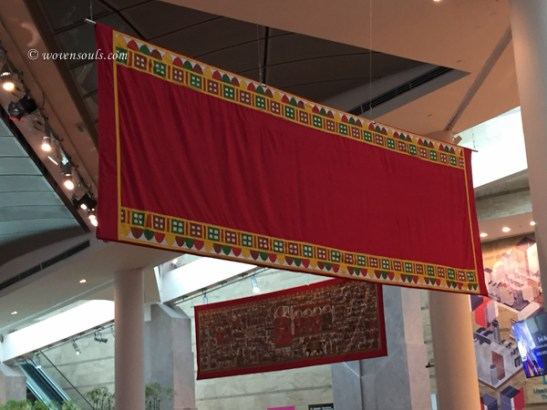 TEXTILE ART AT ESPLANADE SINGAPORE Curated by Jaina Mishra