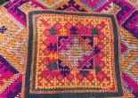 antique sindh dowry embrodiery textile for wedding