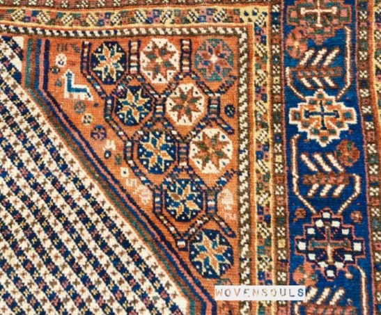 Antique Qashqai Rug Art Gallery