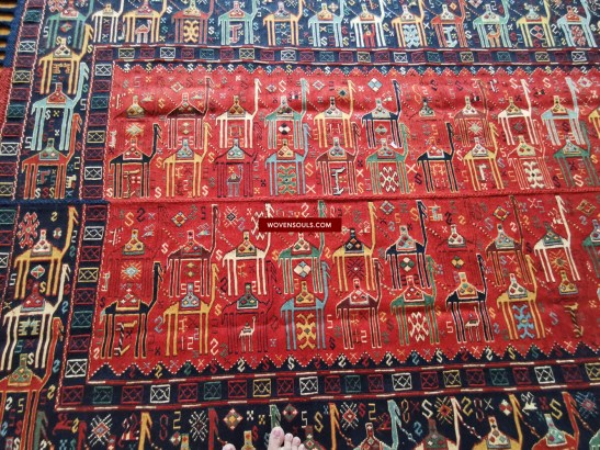 1389 ANTIQUE VERNEH RUG