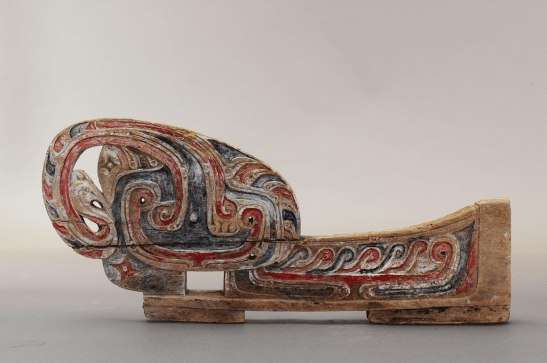 Painted wave splitter from papua new guinea