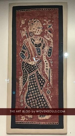 Antique Indian Kalamkari Textile, IHC