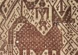 Antique Sumatra Tampan Ship cloth textile art