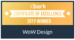 WoW Design Studio - Bark Certificate of Excellence Winner