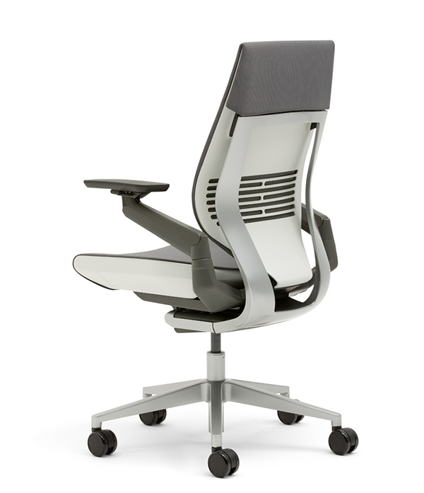 steelcase gesture chair with light by video wow ways of working webmagazine