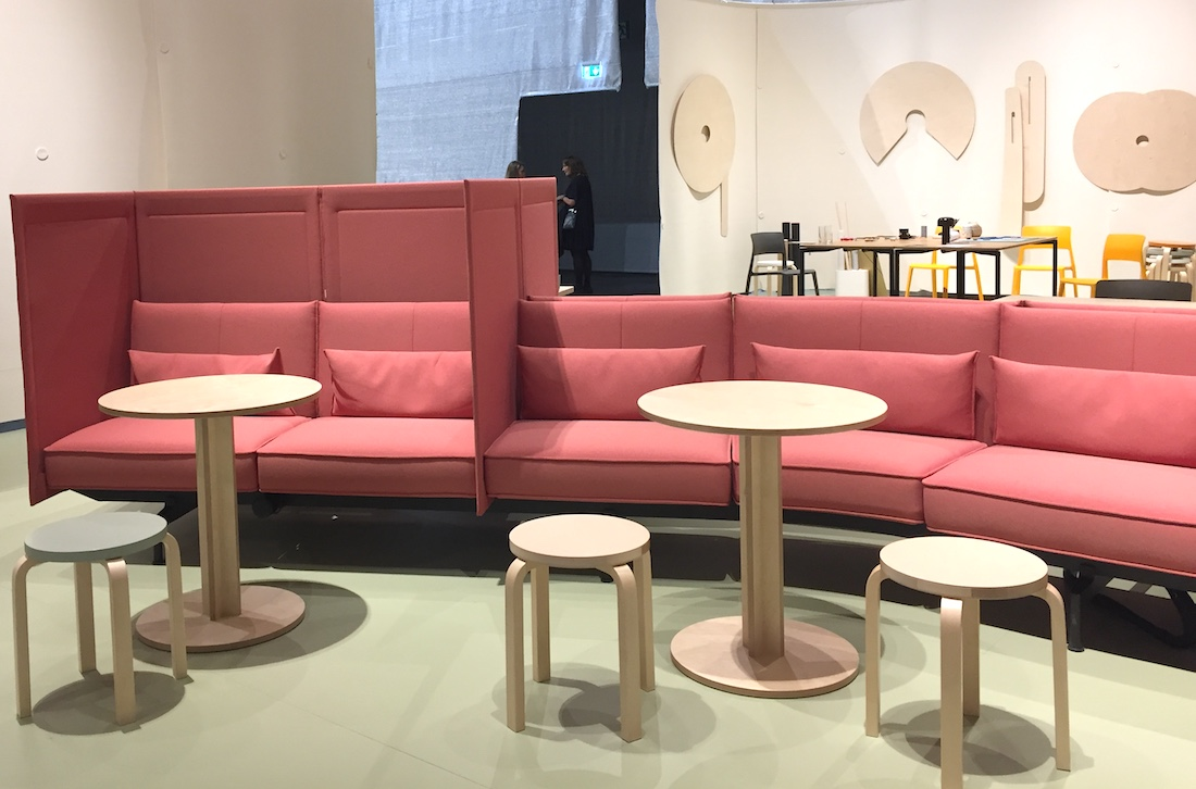 Armchairs and seating systems at orgatec2018  WOW