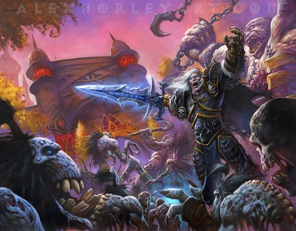 Fall Of The Lich King Wallpaper Scourge Invasion Of Quel Thalas Wowpedia Your Wiki