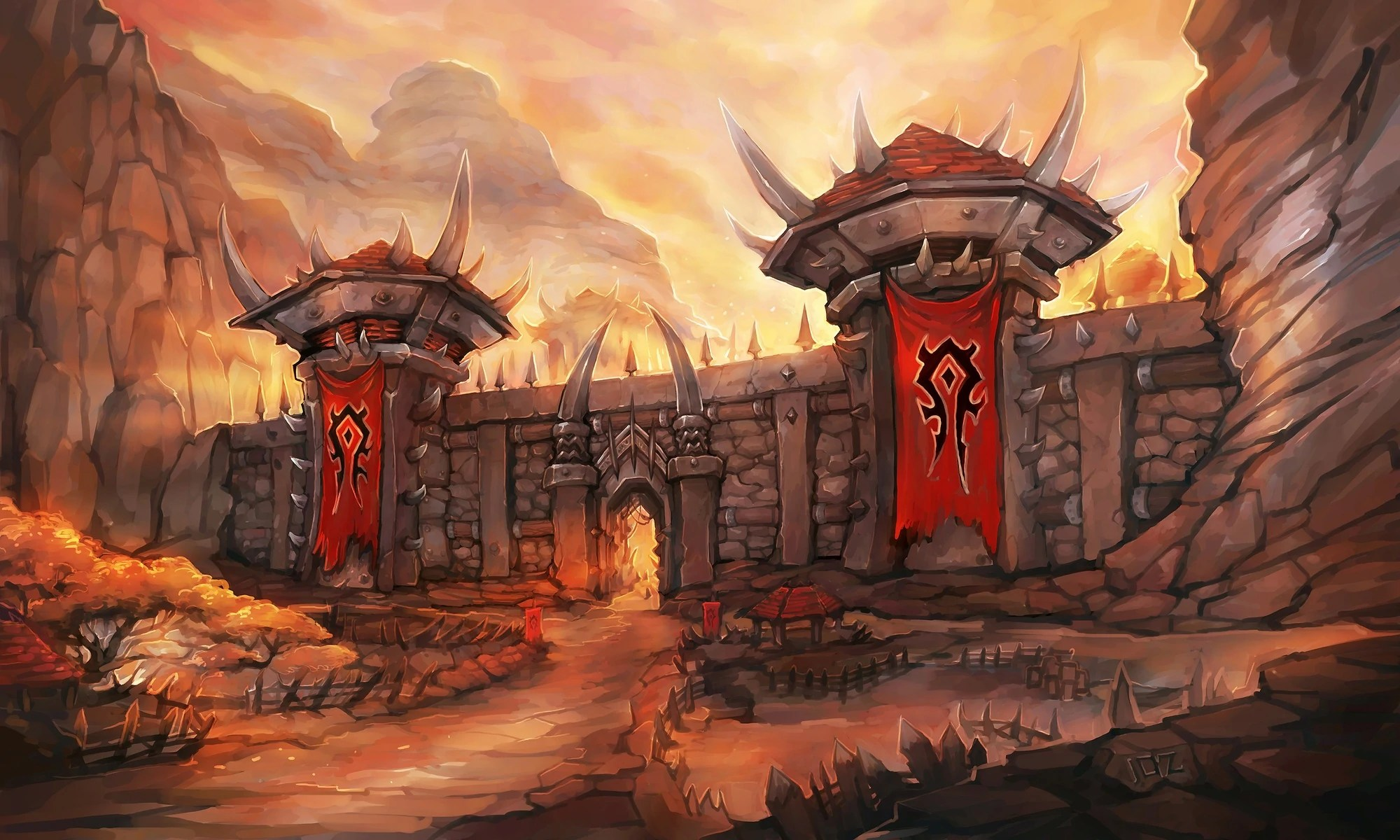 Falling Down A Portal Wallpaper Orgrimmar Wowpedia Your Wiki Guide To The World Of
