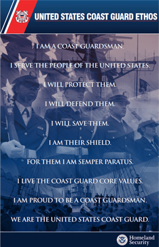 US Coast Guard Ethos