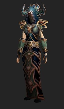 Deathmist Raiment  Transmog Set  World of Warcraft