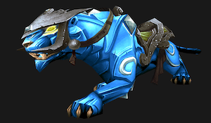 Onyx panther (blue)