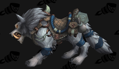 Wolf mount (frost)