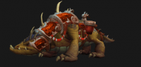 Mushan beast mount (brown)
