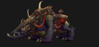 Mushan beast mount (black)
