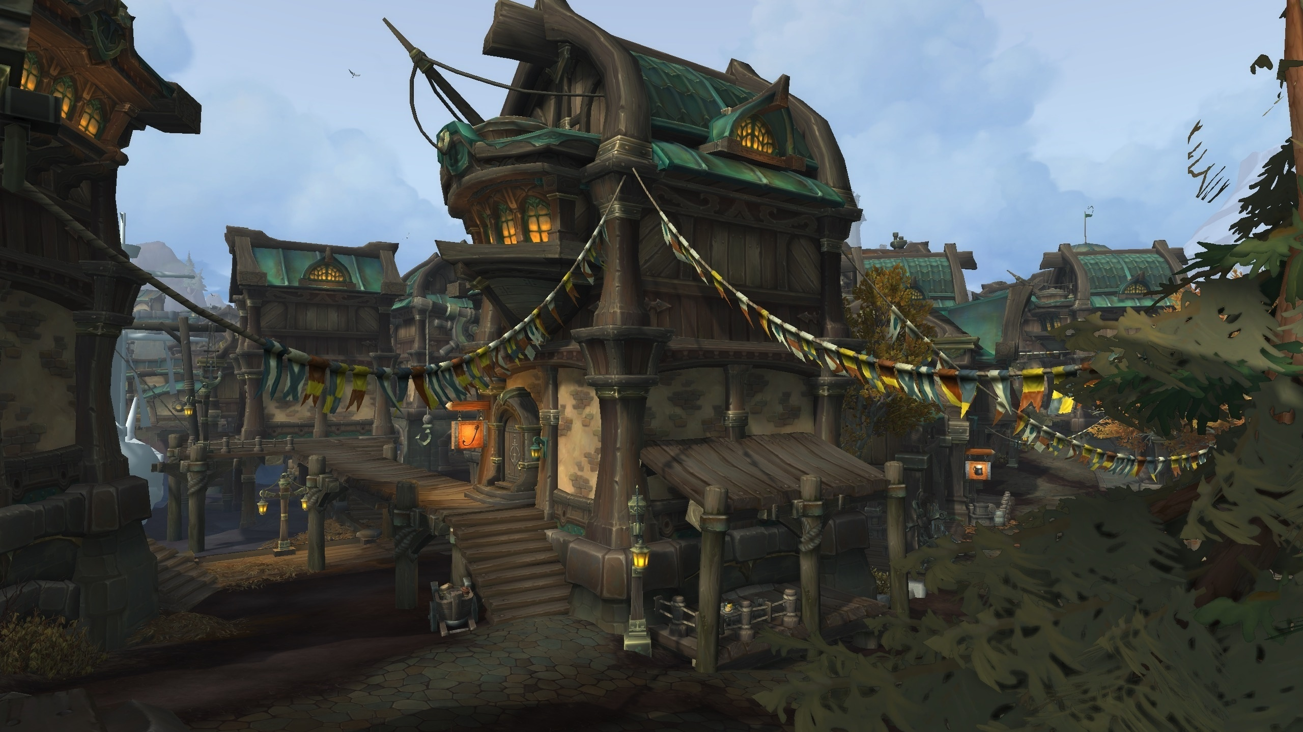 Updated Boralus Environment in Build 26175  Wowhead News