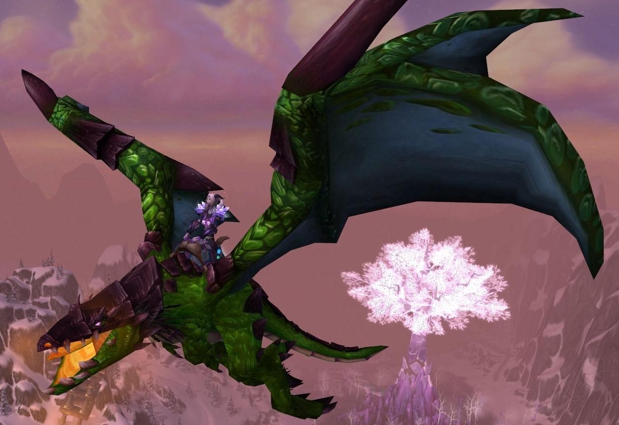 Reins Of The Green Proto Drake Item World Of Warcraft