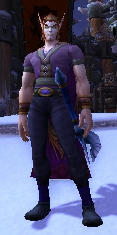 Robin Fredericksen NPC World of Warcraft