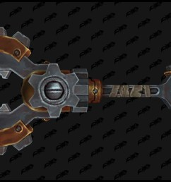 several engineering weapons have a distinctive gear appearance for transmog  [ 2560 x 1440 Pixel ]