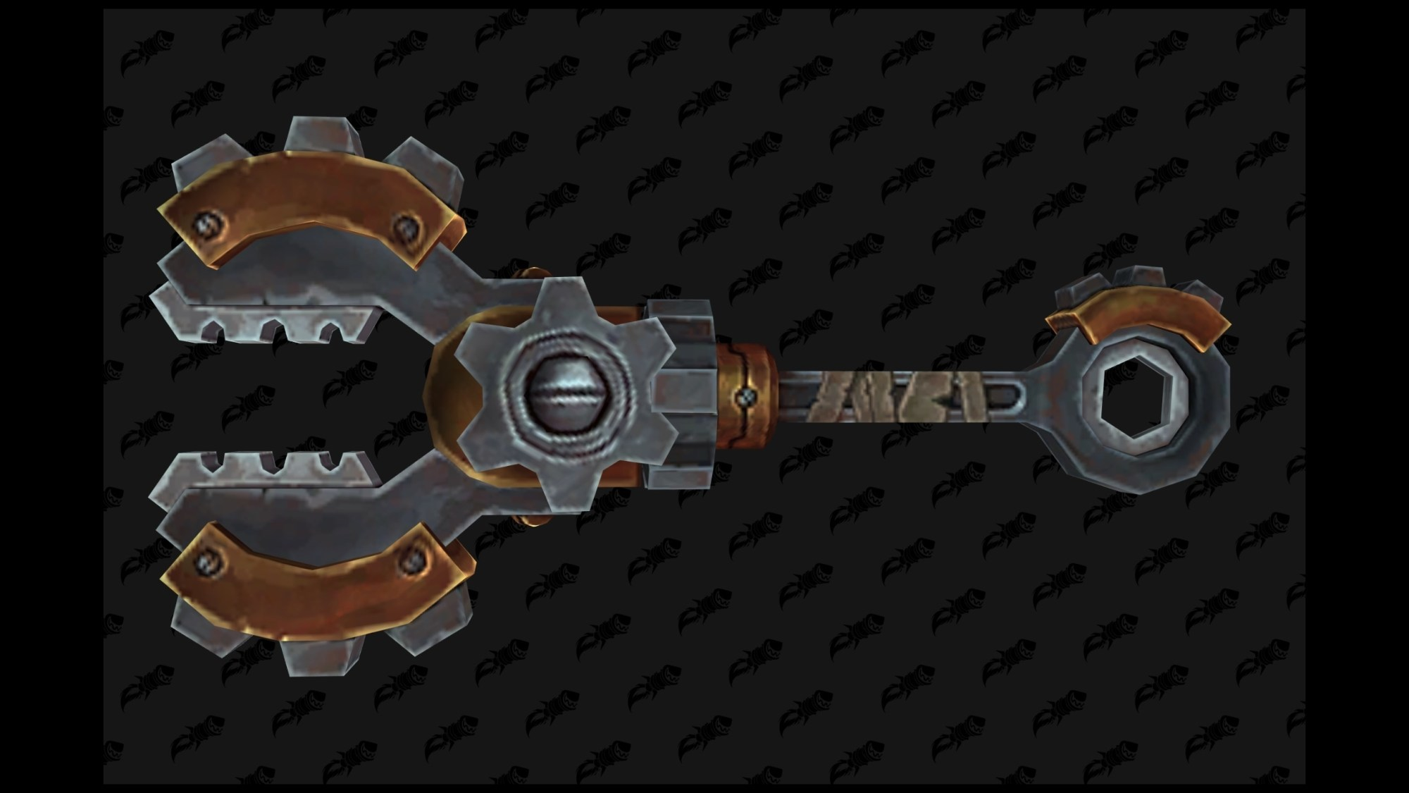hight resolution of several engineering weapons have a distinctive gear appearance for transmog