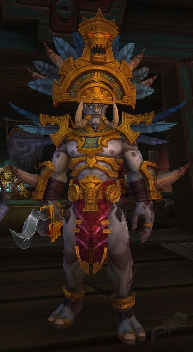 Snake 3d Live Wallpaper King Rastakhan Npc World Of Warcraft