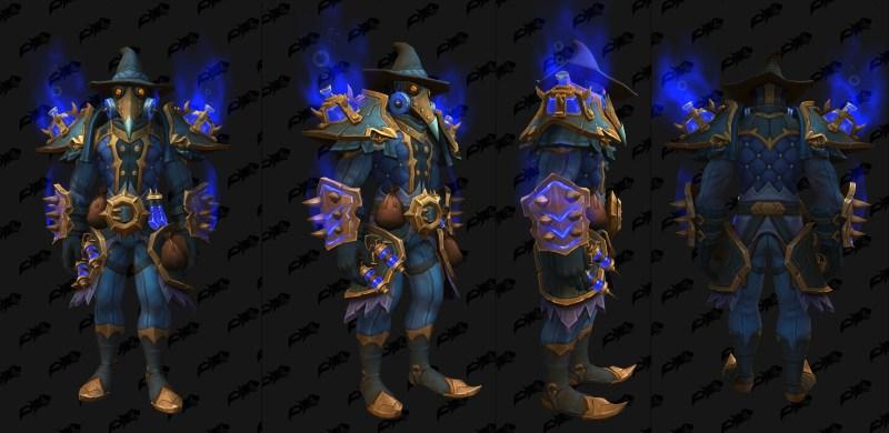 Cloth Castle Nathria Shadowlands Raid Armor Set 07