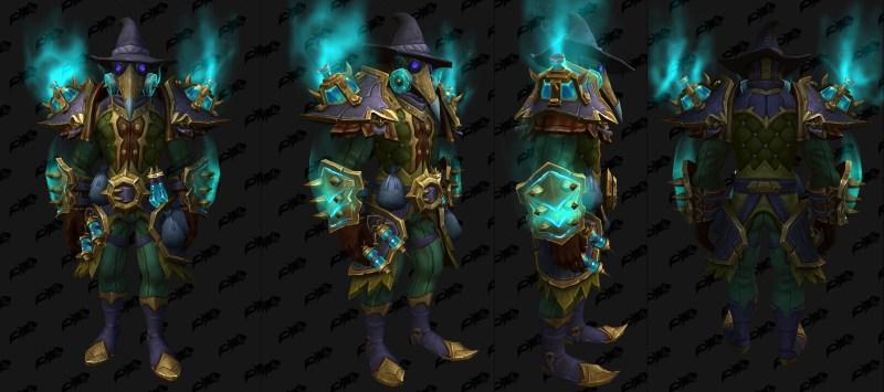 Cloth Castle Nathria Shadowlands Raid Armor Set 09