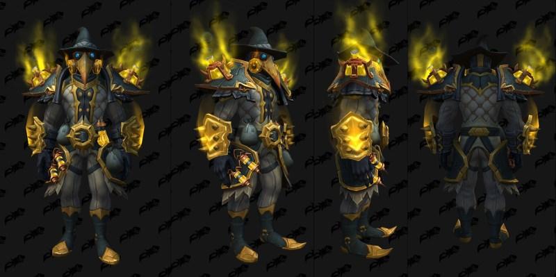 Cloth Castle Nathria Shadowlands Raid Armor Set 02