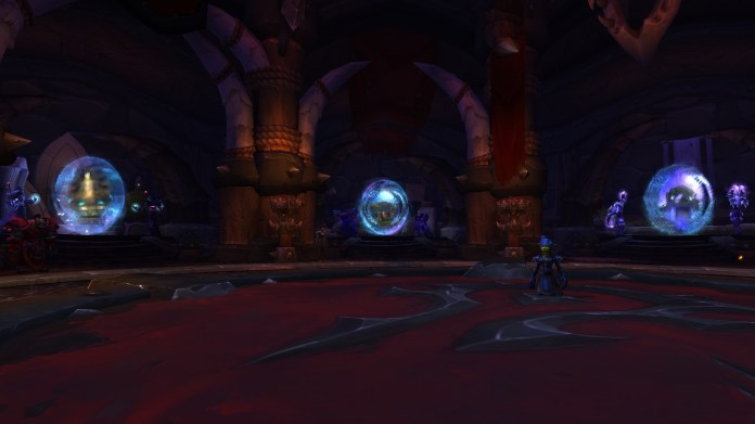 Orgrimmar Portal Room Changes In Shadowlands Oribos Portal Moved To Upper Floor Wowhead News