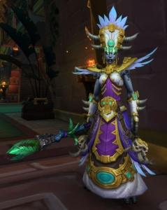Son Oeil Noir Vous Regarde Wow : regarde, Princesse, Talanji, World, Warcraft