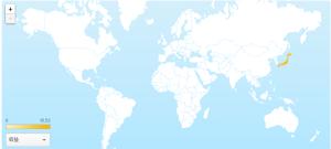 wowapp 世界地図画像