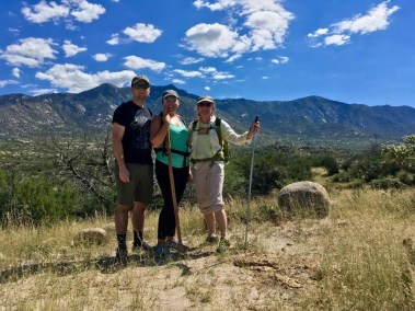 Nick, Krystine & MaryEllen on The 50 Year Trail