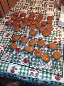 Pumpkin Spice Molasses cookies