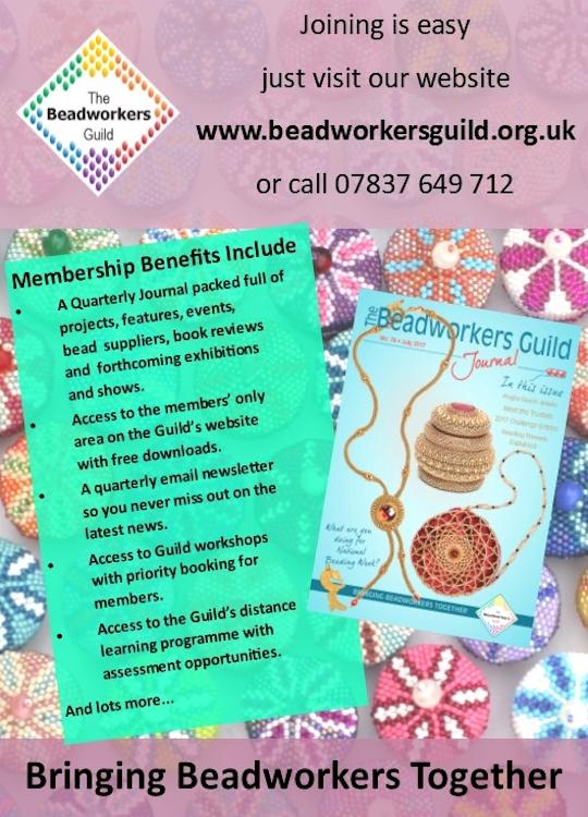 Beadworkers Guild advert