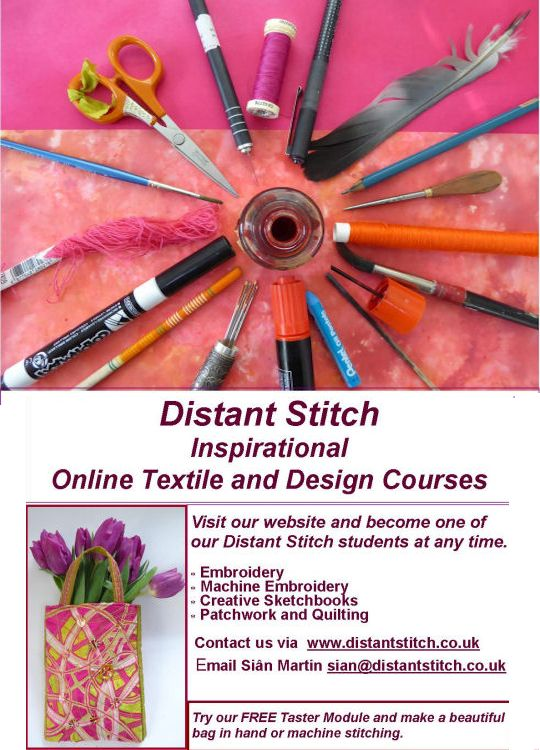 Distant Stitch advert