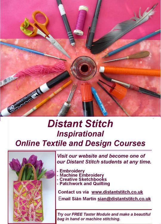 Distant Stitch advert