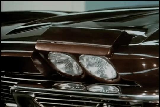 1963 Corvette Sting Ray - Front Lights
