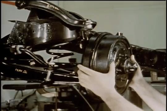 1963 Chevrolet Corvette Sting Ray - Suspension