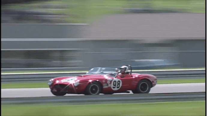 Shelby Cobra #98 Red Racing