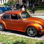 VW Bug Gold
