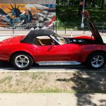 Chevy Corvette Convertible - Red