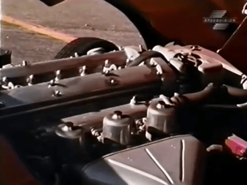 Engine - 1968 Jaguar XKE Road Test