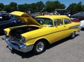 1957 Chevy Yellow