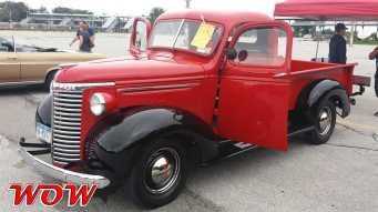 Red Chevrolete Pickup