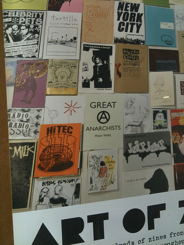 Photos from Anno Domini's Art of Zines Show