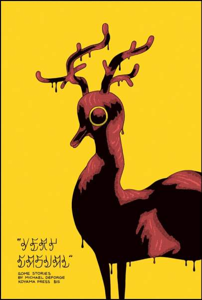 Michael DeForge Very Casual