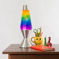 Lava Lite 5240 16.3-Inch Premier Lava Lamp, White Wax/5 ...